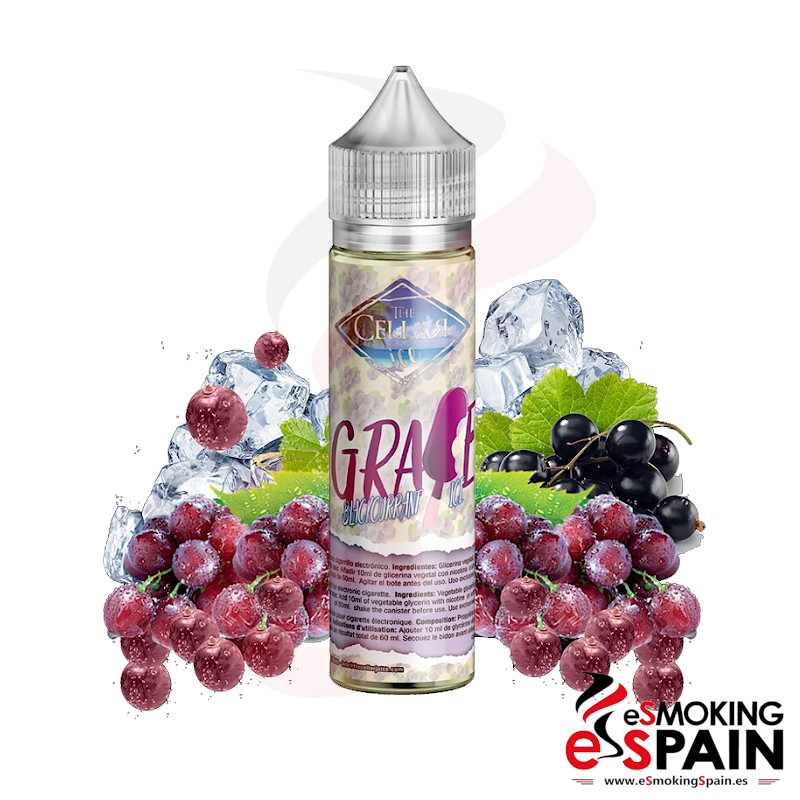 The Cellar Juice Ice Grape Blackcurrant Ice 50ml 0mg