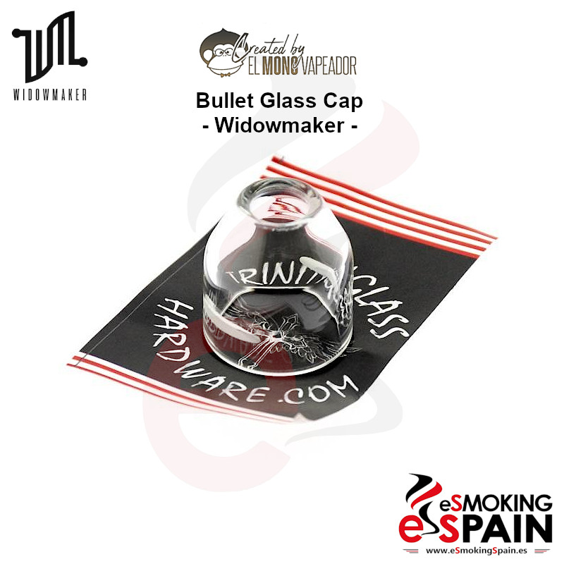 "Trinity Glass Bullet Glass Cap Widowmaker RDA <img src=""includes/languages/espanol/images/buttons/icon_newarrival.gif"" border=""0"" alt=""Nuevo : Trinity Glass Bullet Glass Cap Widowmaker RDA"" title="" Nuevo : Trinity Glass Bullet Glass Cap Widowmaker RDA "">"