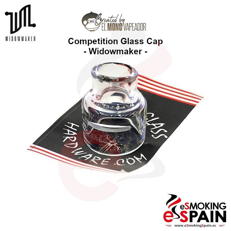 Trinity Glass Competition Glass Cap Widowmaker RDA