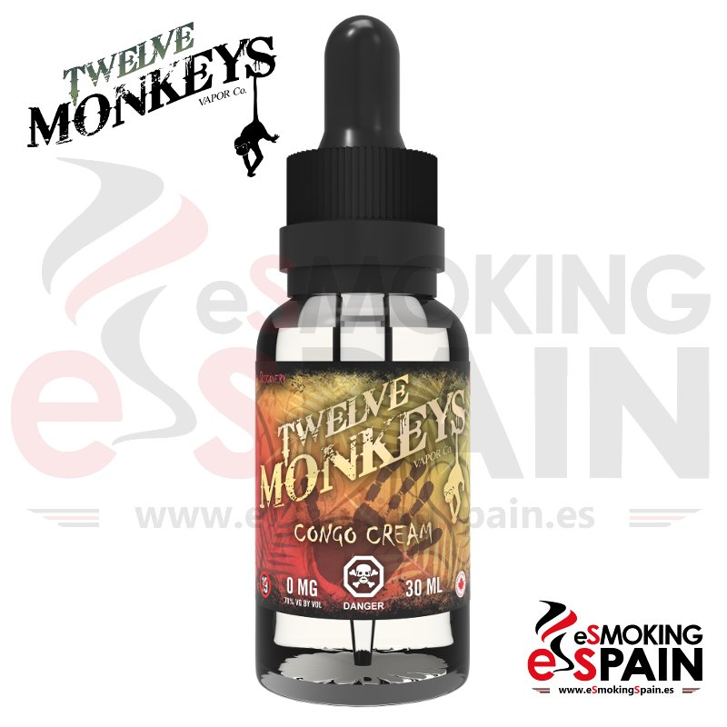 e-Liquid Twelve Monkeys Congo Cream 30ml