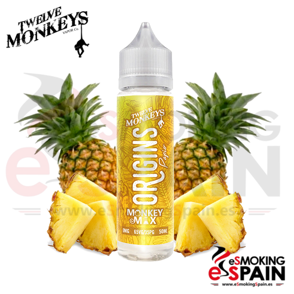 Liquido Twelve Monkeys 50ml Papio 0mg