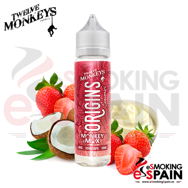 Liquido Twelve Monkeys 50ml Saimiri 0mg