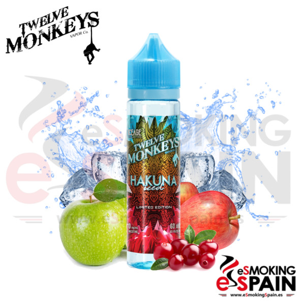 Liquido Twelve Monkeys IceAge Hakuna 50ml 0mg
