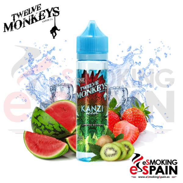 Liquido Twelve Monkeys IceAge Kanzi 50ml 0mg