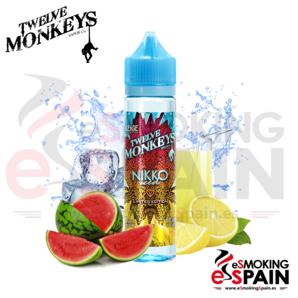 Liquido Twelve Monkeys IceAge Nikko 50ml 0mg