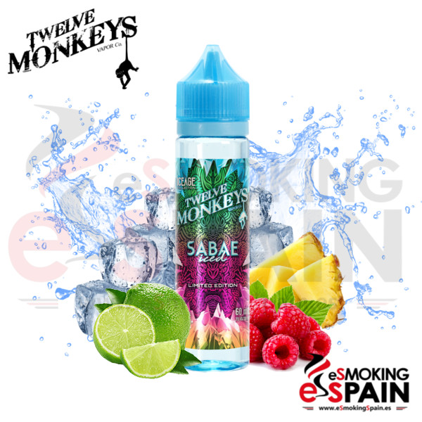 Liquido Twelve Monkeys IceAge Sabae 50ml 0mg