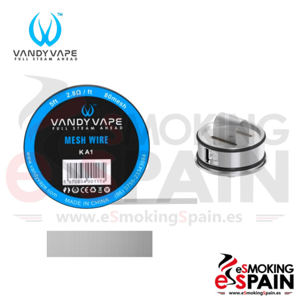Vandy Vape KA1 Mesh Wire 5ft (1.6m)