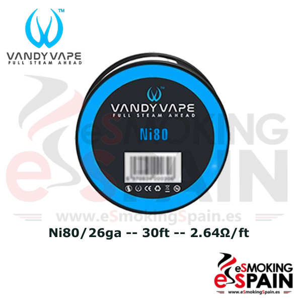 Vandy Vape Ni80 26ga 30ft (9m)