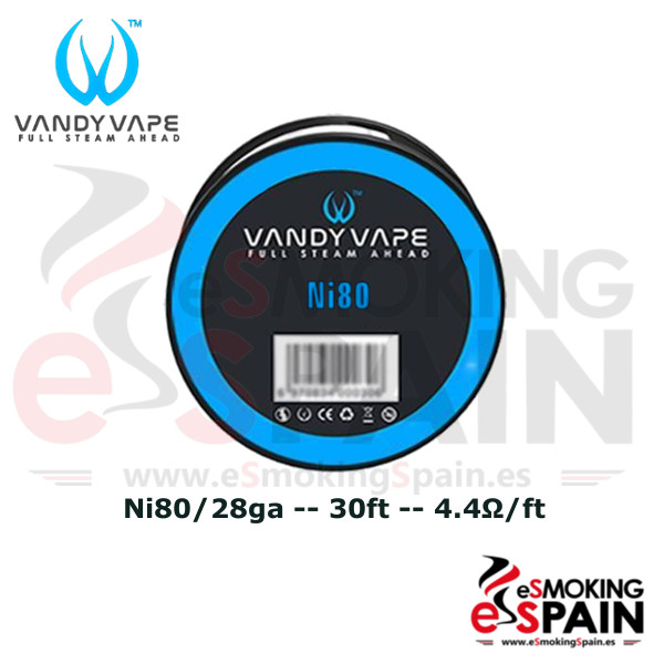 Vandy Vape Ni80 28ga 30ft (9m)