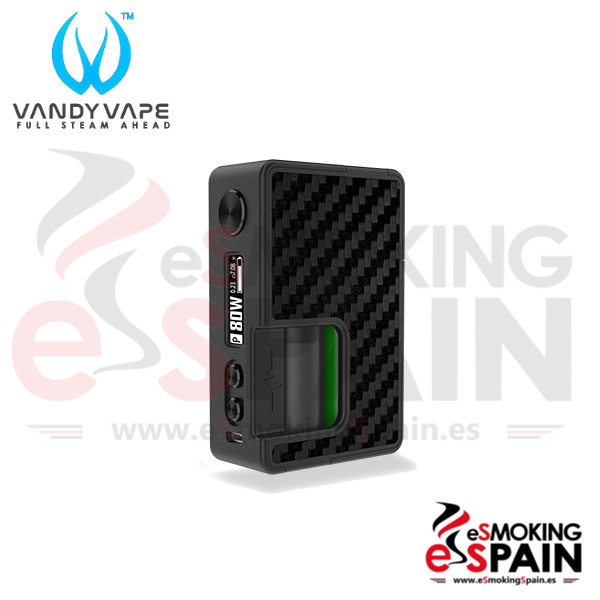 Vandy Vape Pulse BF 80W Mod Carbon Fiber Full Black