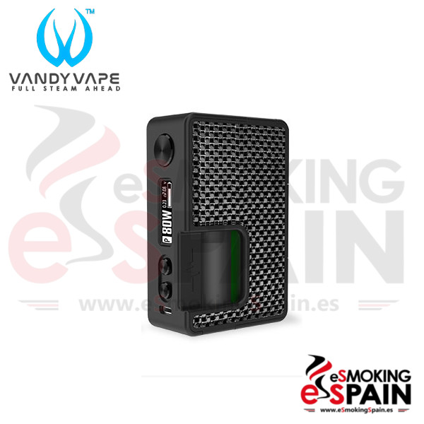 Vandy Vape Pulse BF 80W Mod Carbon Fiber Silver Black