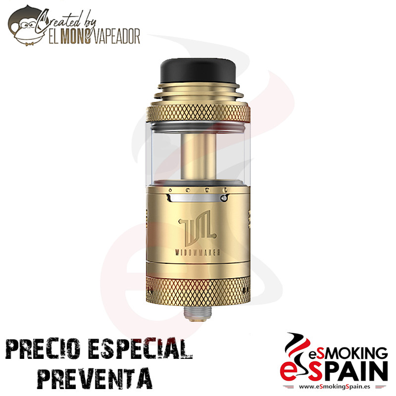 Vandy Vape Widowmaker RTA 2ml TPD Gold PRE-VENTA