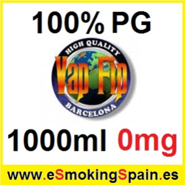 1000ml Base Vap Fip 100% PG 0mg