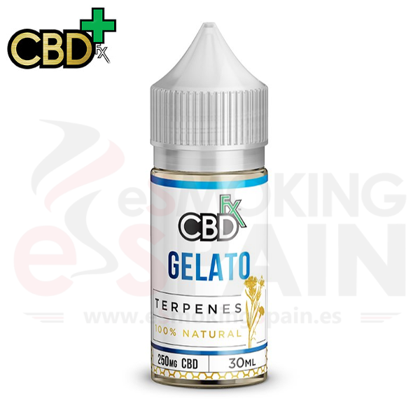 CBD + Fx Gelato Terpenes 500mg 100% Natural 30ml