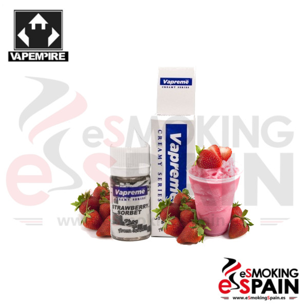 Aroma Vapempire Vapreme Strawberry Sorbet 30ml