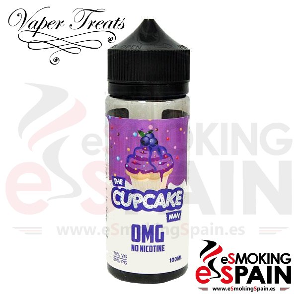 Liquido Vaper Treats Cupcake Man Blueberry 100ml