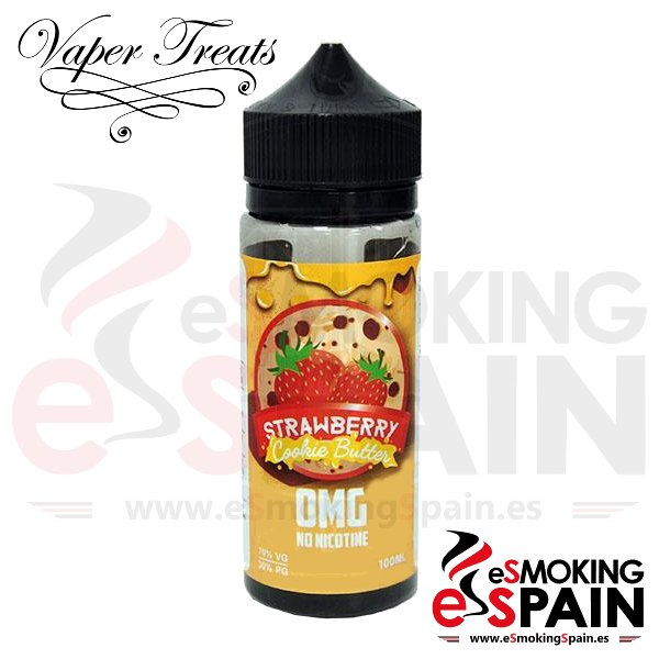 Liquido Vaper Treats Strwberry Cookie Butter 100ml