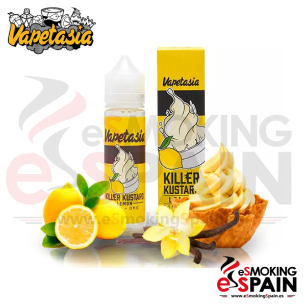 Vapetasia Killer Kustard Lemon 50ml 0mg