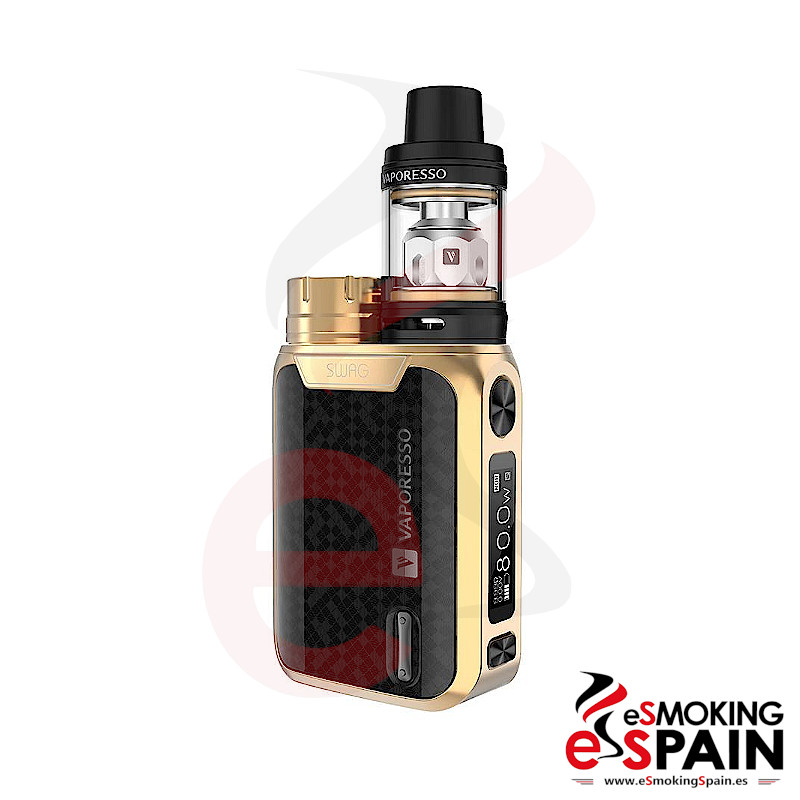 Vaporesso Swag Kit Gold + NRG SE Tank 2ml