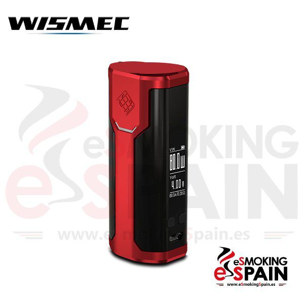 Wismec Sinuous P80 Red