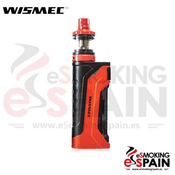 Kit Wismec Sinuous CB80 Red + Armor NS Pro
