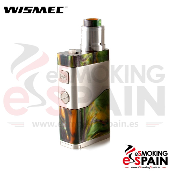 Kit Wismec Luxotic NC 250W Green Resin + Guillotine V2
