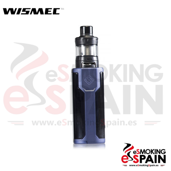 Kit Wismec Sinuous P80 Blue + Elabo Mini