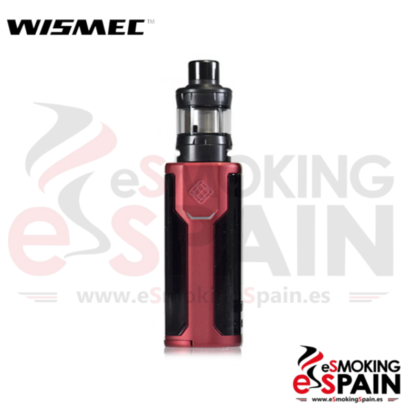 Kit Wismec Sinuous P80 Red + Elabo Mini