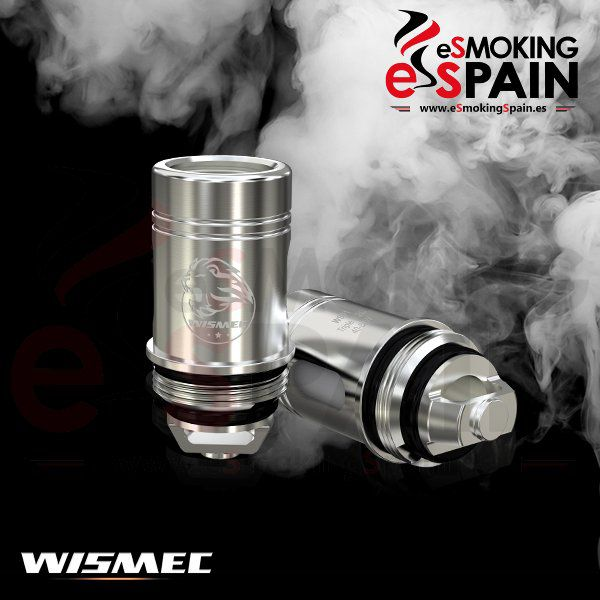 Coil Head Wismec Triple 0.2ohm Sinuous SW (WIS001)
