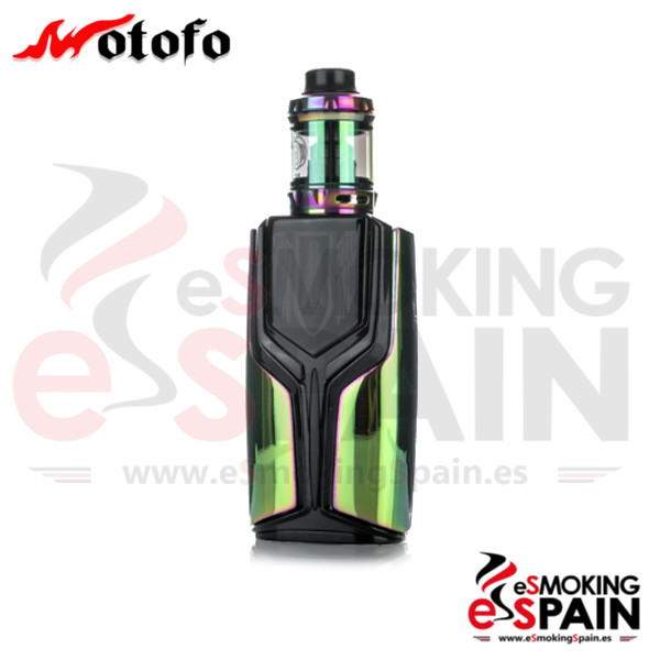 Wotofo And Rig Mod Flux 200W Kit Rainbow