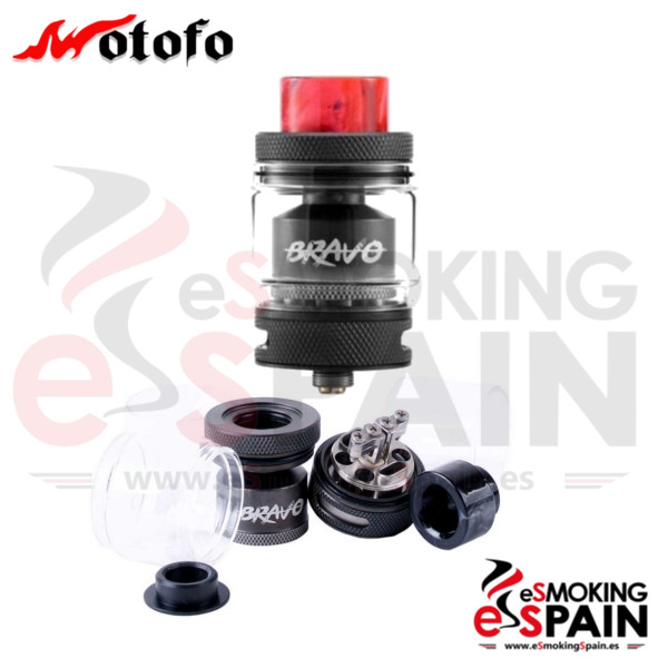 Wotofo Bravo RTA 2ml TPD Black