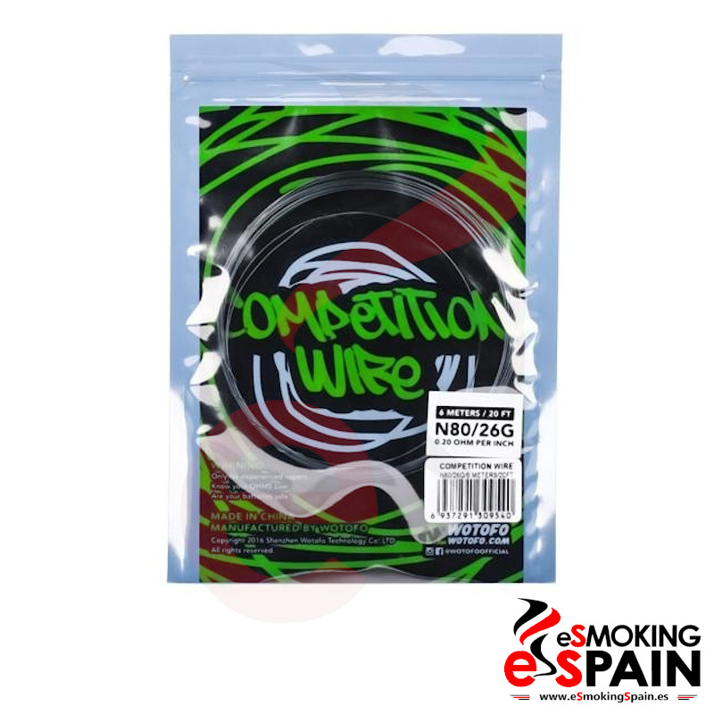 Wotofo Competition Wire Ni80 26G 6m