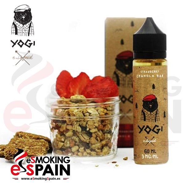 Yogi e-liquid Strawberry Granola Bar 50ml