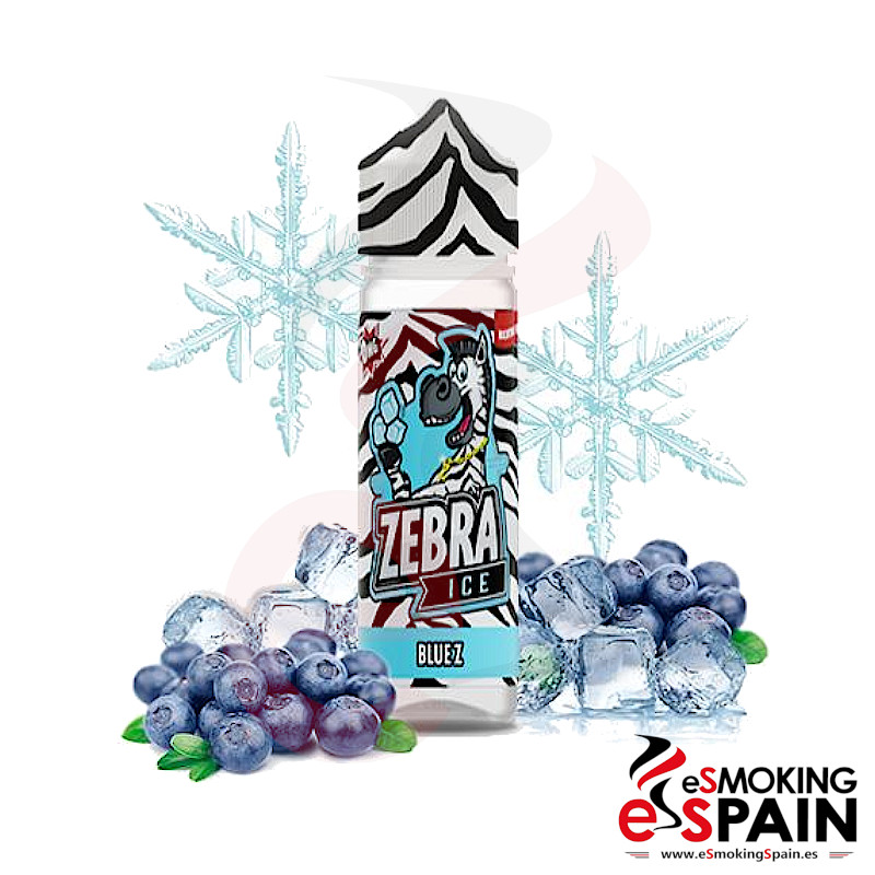 Zebra Juice Ice Blue Z 50ml 0mg