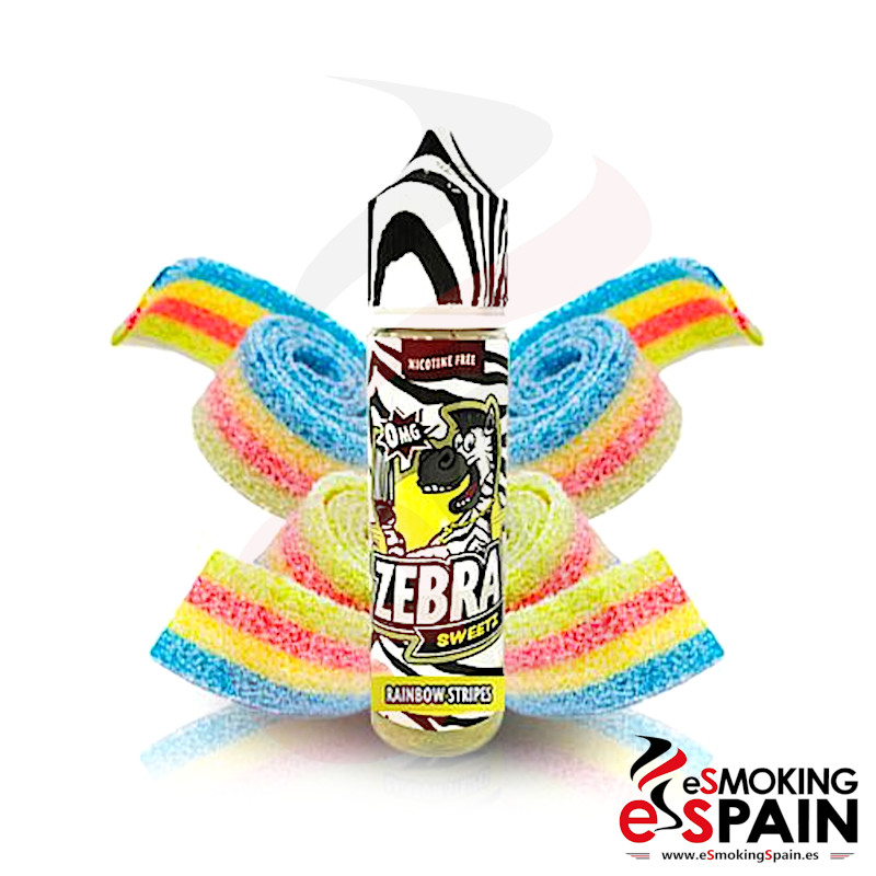 Zebra Juice Sweetz Rainbow Strips 50ml 0mg