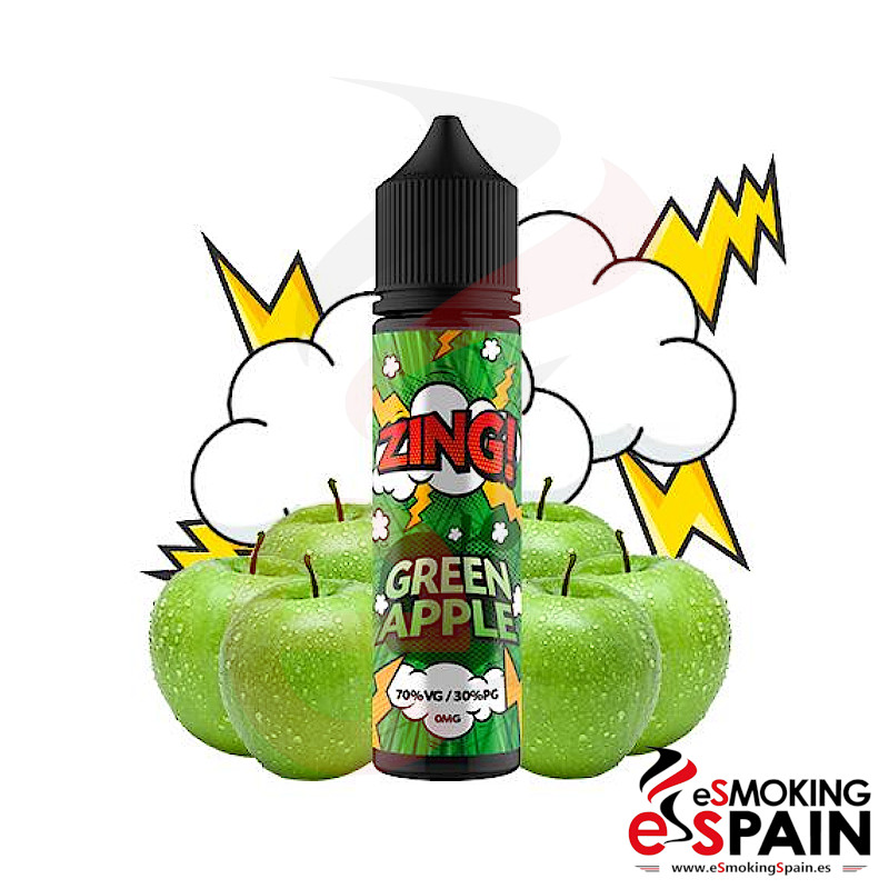 Zing Green Apple 50ml 0mg
