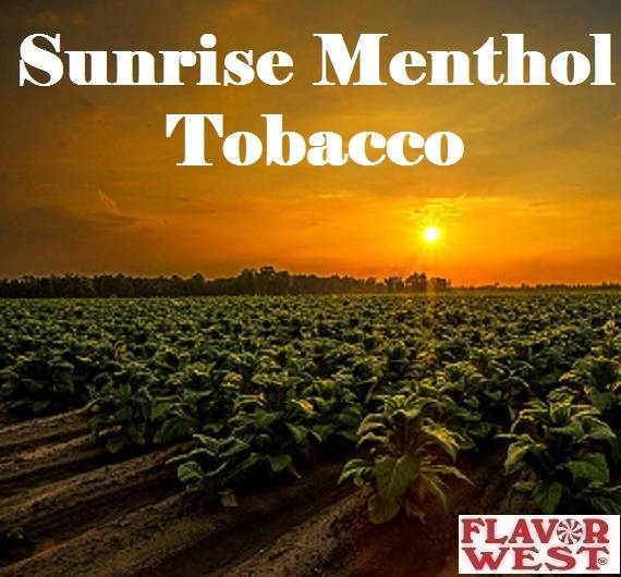 Aroma FLAVOR WEST Sunrise Menthol Tobacco 10ml (nº133)