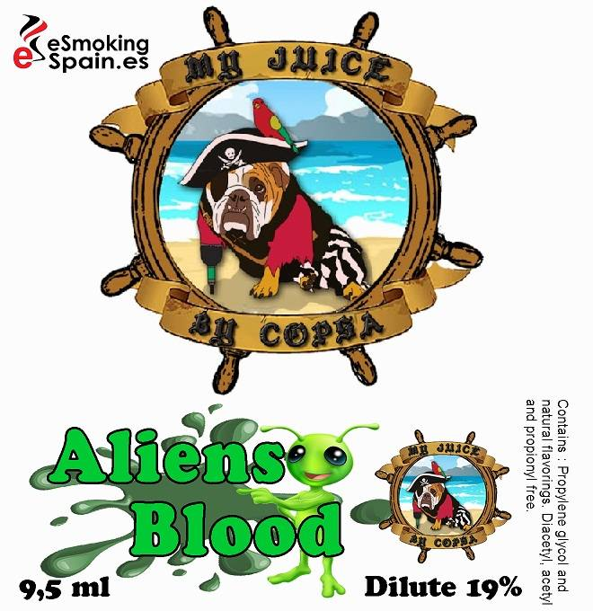 Aroma My Juice By Copsa Aliens Blood (nº2)