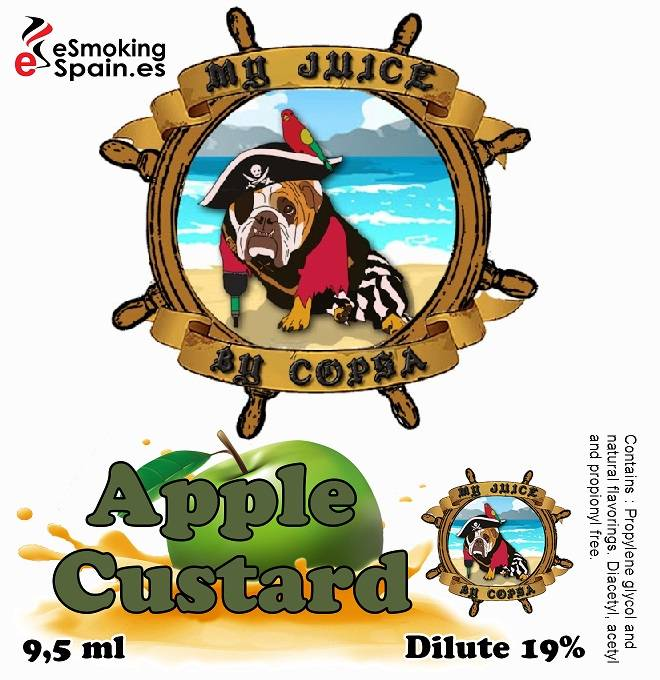 Flavour Aroma My Juice By Copsa Apple Custard (nº3)