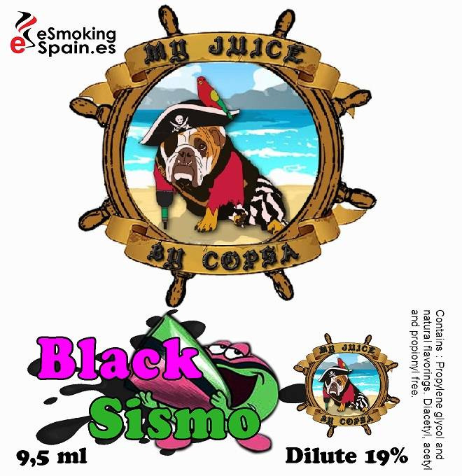 Flavour Aroma My Juice By Copsa Black Sismo (nº12)