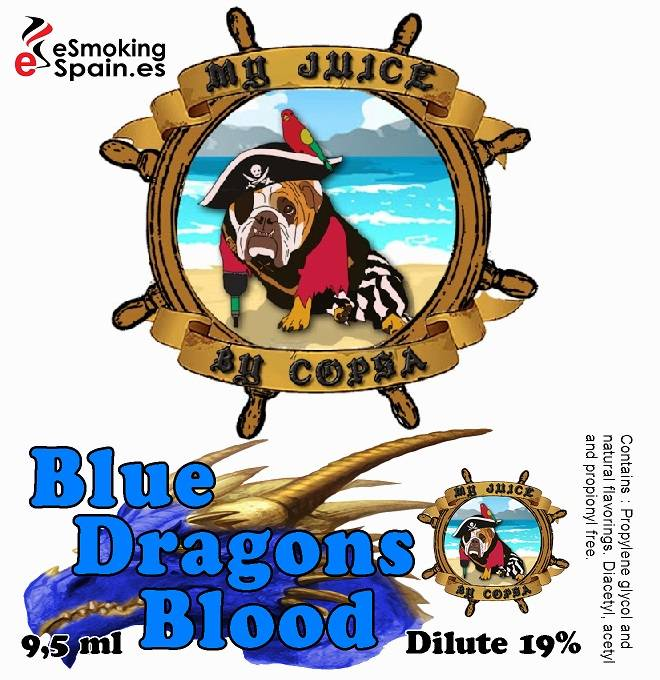 Aroma My Juice By Copsa Blue Dragon Blood (nº14)