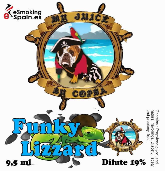Flavour Aroma My Juice By Copsa Funky Lizzard (nº20)