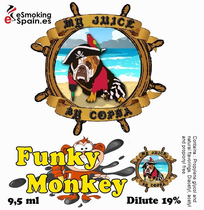 Flavour Aroma My Juice By Copsa Funky Monkey (nº21)