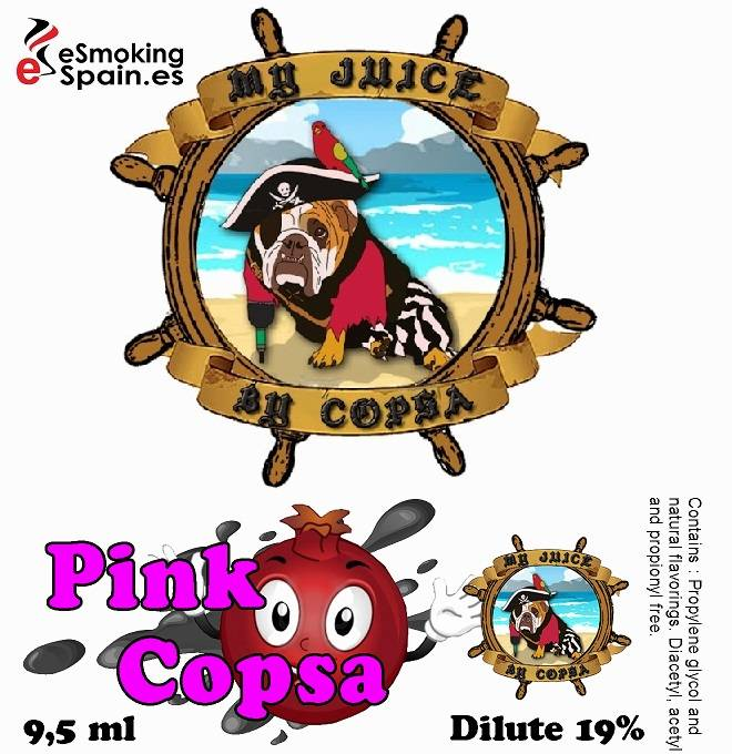 Flavour Aroma My Juice By Copsa Pink Copsa (nº36)