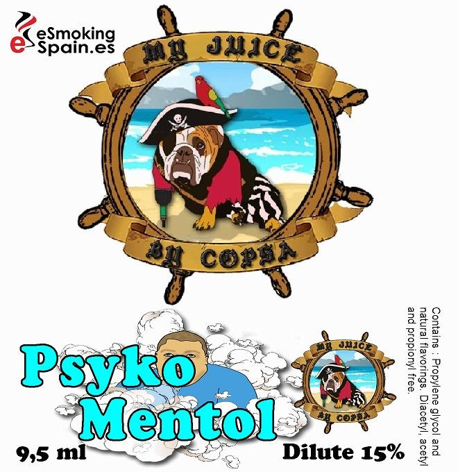 Flavour Aroma My Juice By Copsa Psyko Mentol (nº37)