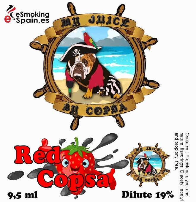 Flavour Aroma My Juice By Copsa Red Copsa (nº39)