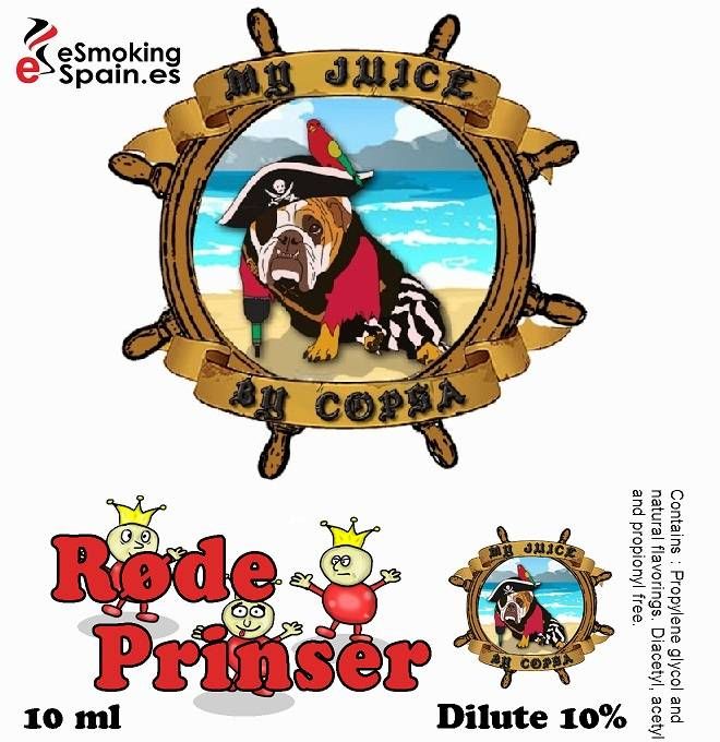 Flavour Aroma My Juice By Copsa Rode Prinser (nº40)