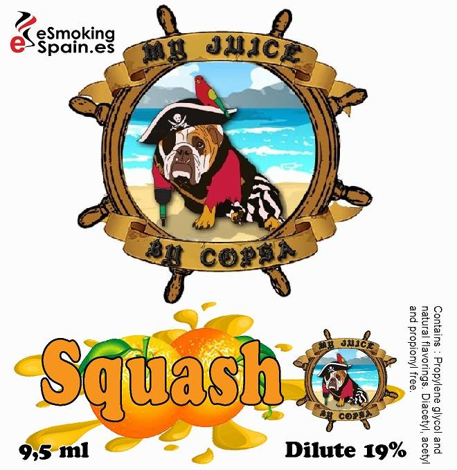 Flavour Aroma My Juice By Copsa Squash (nº44)