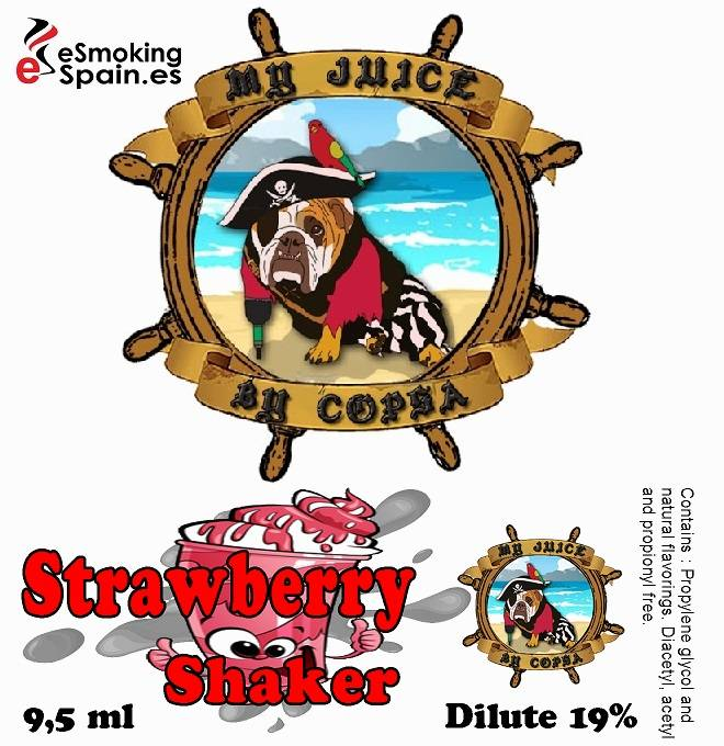 Flavour Aroma My Juice By Copsa Strawberry Shaker (nº48)