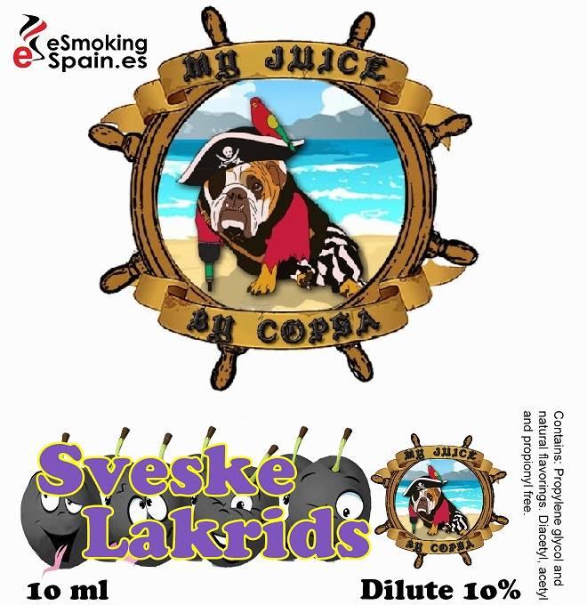 Flavour Aroma My Juice By Copsa Sveske Lakrids (nº50)